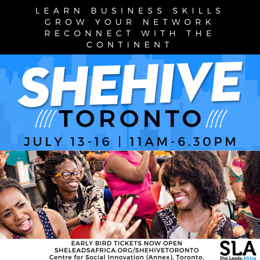Lessons Learned from She Leads Africa #SheHiveToronto Boot Camp (Part 1)